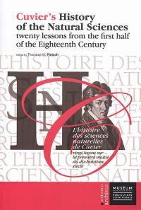 Cuvier's history of the natural sciences. Volume 3, Twenty lessons from the first half of the eighteenth century