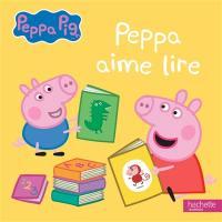 Peppa aime lire