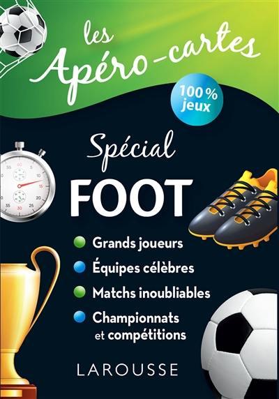 Les apéros-cartes spécial foot