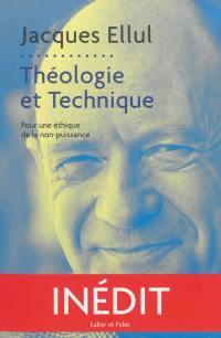 Théologie et technique