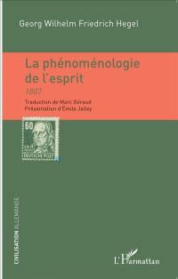 La phénoménologie de l'esprit