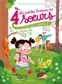Les petites histoires des 4 soeurs, Le goûter des animaux