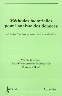 Méthodes factorielles pour l'analyse des données