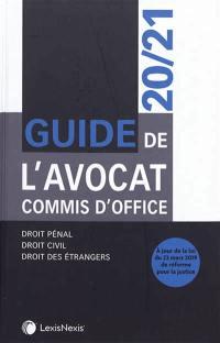Guide de l'avocat commis d'office