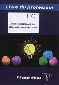 Transaction immobilière BTS professions immobilières, licence