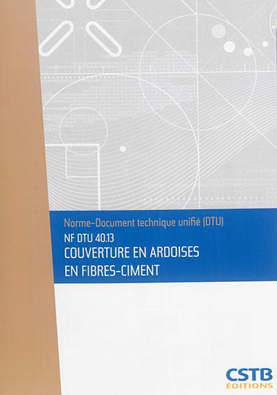 Couverture en ardoises en fibres-ciment