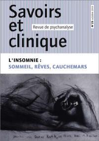 Savoirs et clinique. n° 25, L'insomnie