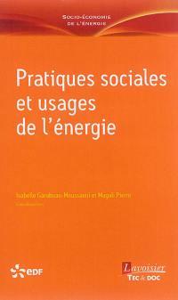 Pratiques sociales et usages de l'énergie
