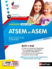 ATSEM et ASEM, concours 2020-2021