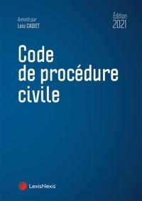 Code de procédure civile 2021