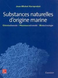 Substances naturelles d'origine marine