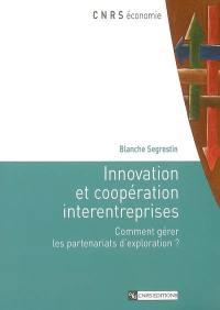 Innovation et coopération interentreprises