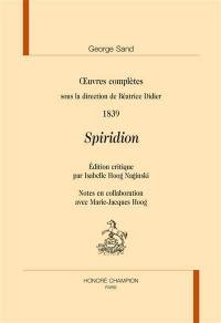 Oeuvres complètes, 1839