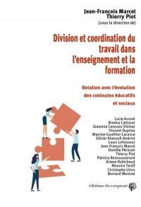 Division et coordination du travail dans l'enseignement et la formation