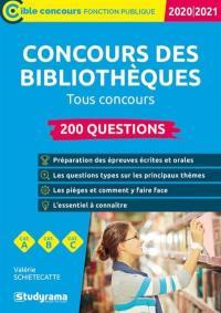 Concours des bibliothèques, 2020-2021