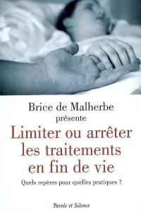Limiter ou arrêter les traitements en fin de vie