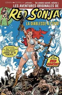 Les aventures originales de Red Sonja, la diablesse à l'épée. Volume 1, 1975-1976
