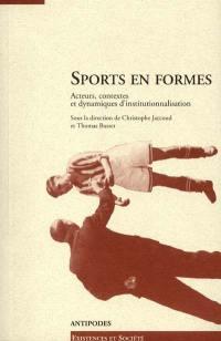 Sports en formes