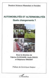 Automobilités et altermobilités