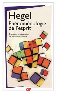 Phénoménologie de l'esprit