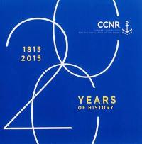CCNR, Central commission for the navigation of the Rhine