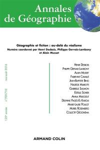 Annales de géographie. n° 709-710, Géographie et fiction