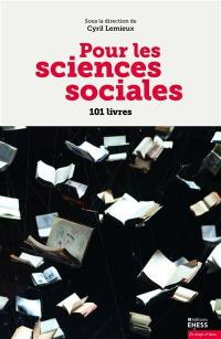 Pour les sciences sociales