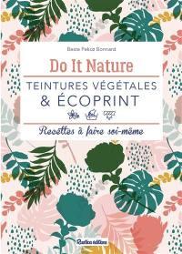 Teintures végétales & écoprint