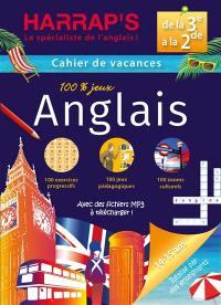 Cahier de vacances anglais Harrap's