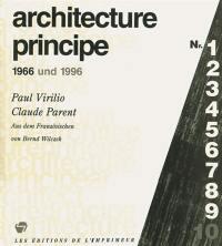 Architecture principe 1966 und 1996