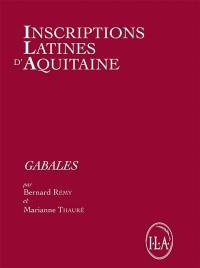 Inscriptions latines d'Aquitaine (ILA). Volume 11, Gabales