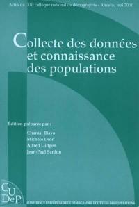Collecte des données et connaissance des populations