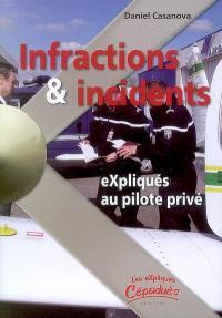 Infractions et incidents expliqués au pilote privé