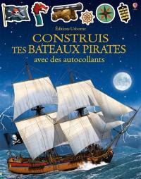 Construis tes bateaux pirates avec des autocollants