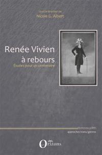 Renée Vivien à rebours