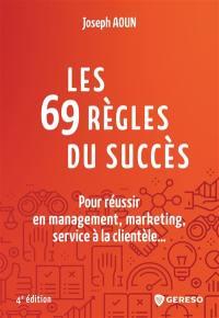 Les 69 règles du succès