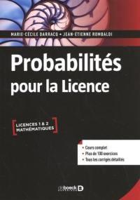 Probabilités pour la licence