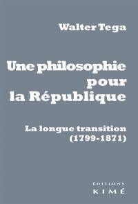 Une philosophie pour la République