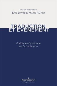 Traduction et événement