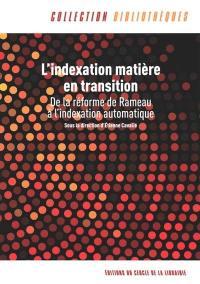 L'indexation matière en transition