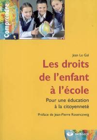 Les droits de l'enfant à l'école