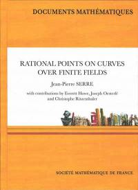 Rational points on curves over finite fields