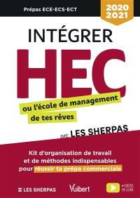 Intégrer HEC ou l'école de management de tes rêves avec les Sherpas