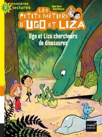 Les petits métiers d'Ugo et Liza. Volume 1, Ugo et Liza chercheurs de dinosaures