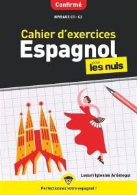 Cahier d'exercices espagnol pour les nuls