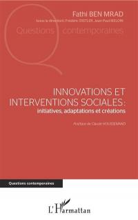Innovations et interventions sociales