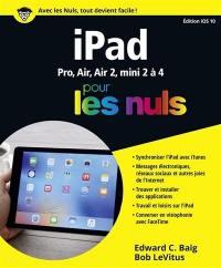 iPad pour les nuls