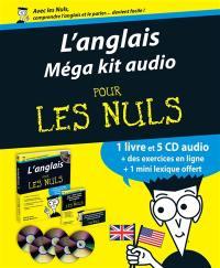 L'anglais méga kit audio pour les nuls