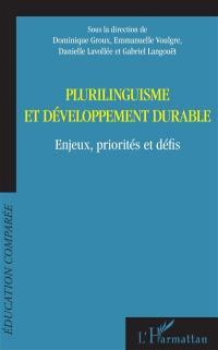 Plurilinguisme et développement durable
