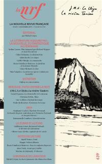 Nouvelle revue française. n° 639,